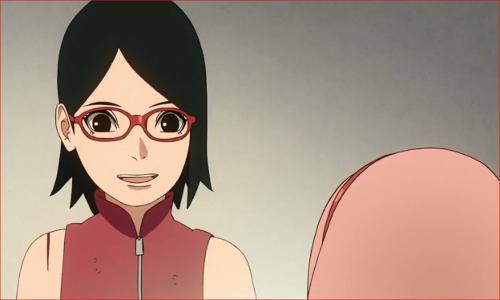 アニメBORUTO60話、だって、アタシ、ママの娘だから