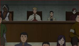 アニメBORUTO60話、シンキの目線の先にはナルトが
