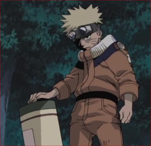 アニメNARUTO1話、イルカ先生に、手を出すな。殺すぞ!