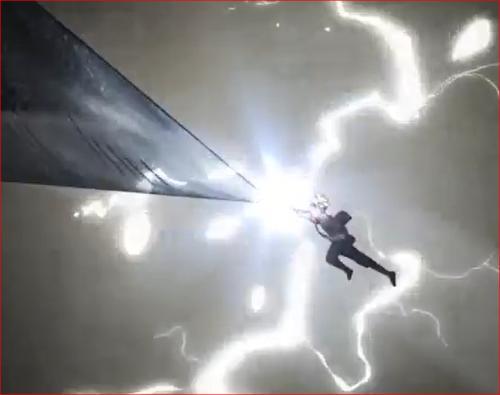アニメBORUTO61話、シンキの黒鉄の翼・槍バージョン