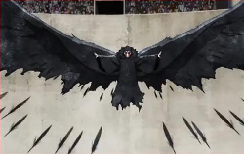 アニメBORUTO61話、シンキの黒鉄の翼