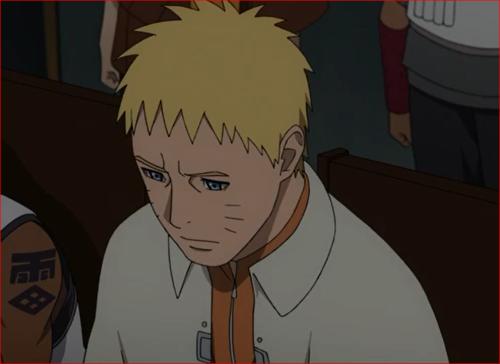 アニメBORUTO61話、ナルトの悲しい表情…