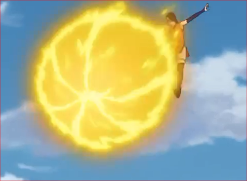 アニメBORUTO61話、火遁・豪火球の術