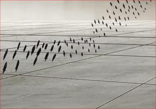アニメBORUTO61話、砂鉄の矢がサラダを追尾