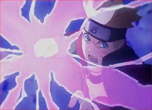 アニメBORUTO61話、紫電