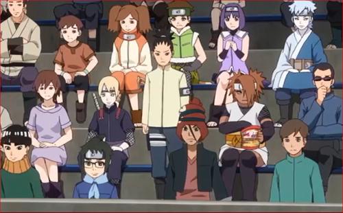 アニメBORUTO61話、観衆と仲間たち…