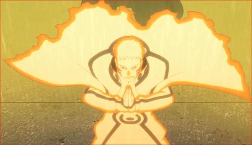 アニメBORUTO62話、やるぞ、九喇嘛!