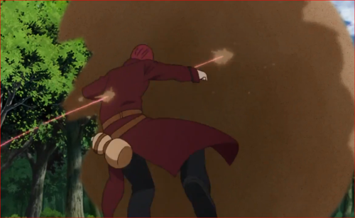 アニメBORUTO62話、ウラシキの攻撃