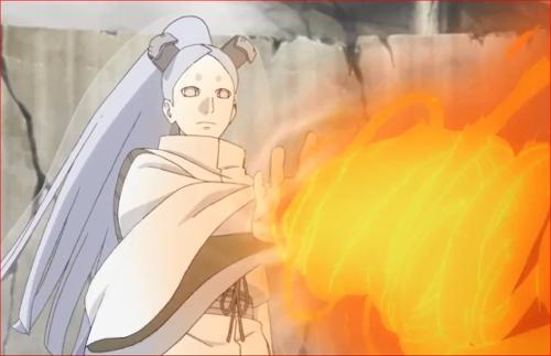 アニメBORUTO62話、ボルトの術を吸収するモモシキ