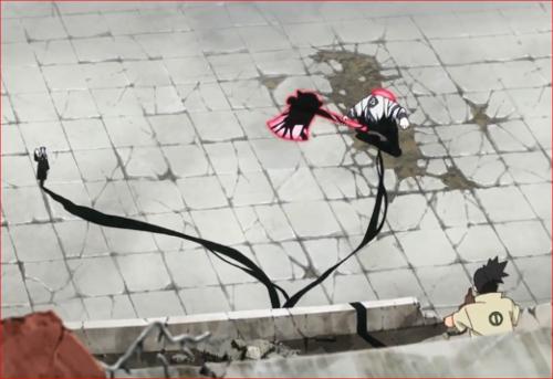 アニメBORUTO62話、大筒木達に影縛りを掛けるシカマル!