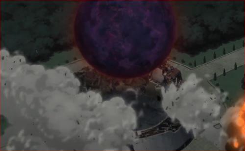 アニメBORUTO62話、巨大な尾獣玉!