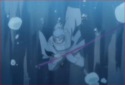 アニメBORUTO62話、激しい水流に呑み込まれるウラシキ