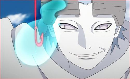 アニメBORUTO62話、見たことないチャクラですね