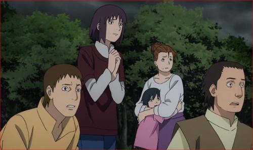 アニメBORUTO62話、見守る里の人々