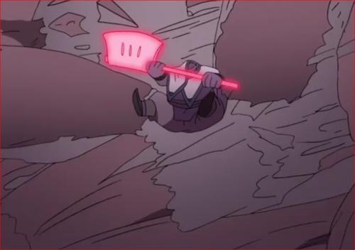 アニメBORUTO64話、ブッ飛ばされるキンシキ