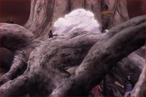 アニメBORUTO65話、キンシキのチャクラを喰らい変化するモモシキ