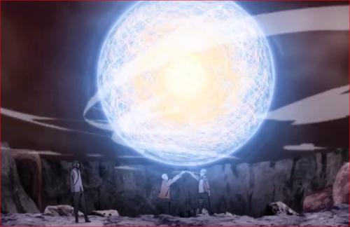 アニメBORUTO65話、ナルトの想いが詰まった螺旋丸だ!