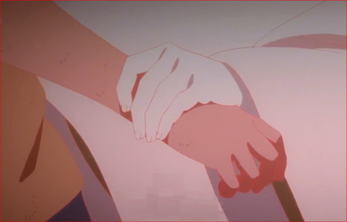 アニメBORUTO65話、ボルトの腕をつかむモモシキ