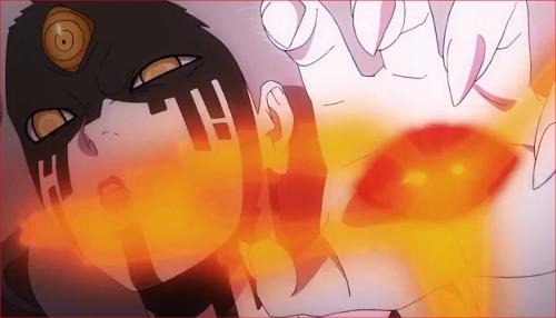 アニメBORUTO65話、感謝するぞ、愚か者!