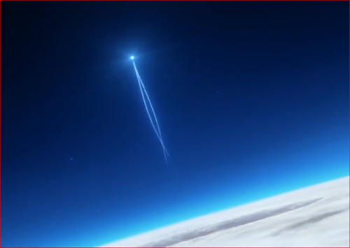 アニメBORUTO65話、成層圏高く舞い上がる螺旋丸