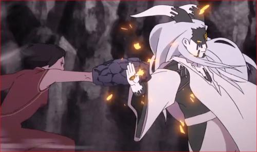 アニメBORUTO65話、黒ツチの攻撃だ!