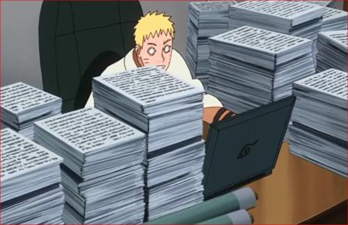 アニメBORUTO66話、父ちゃんも、またいつもの…