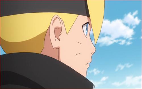 アニメBORUTO66話、オレが目指すのは、オマエの父ちゃんみたいな忍びだ