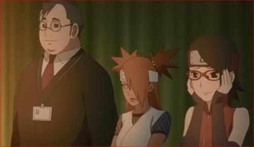 アニメBORUTO68話、あの二人を見ていると、ドラマだって忘れちゃいそう