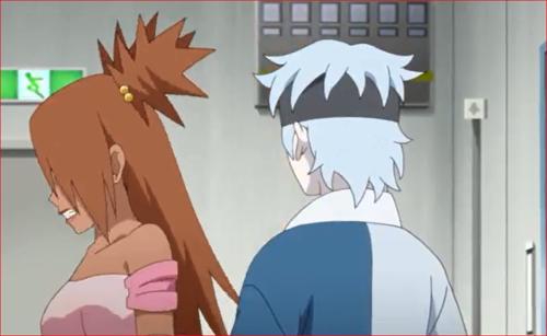 アニメBORUTO68話、キミ、どうしたの、その恰好?