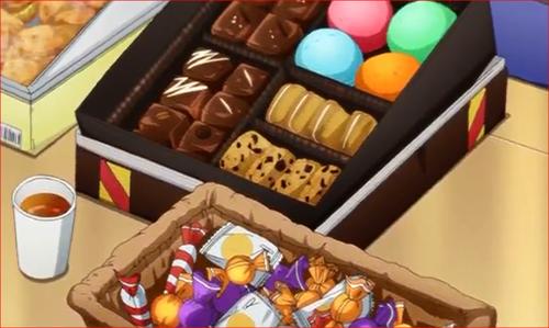 アニメBORUTO68話、差し入れのお菓子