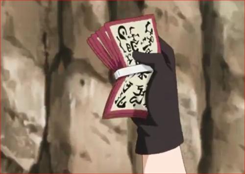 アニメBORUTO69話、大量の起爆札