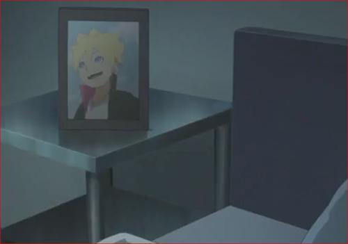 アニメBORUTO71話、ミツキの部屋にはボルトの写真が…