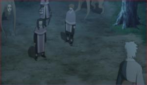 アニメBORUTO第73話、おい、何をしている、急げ