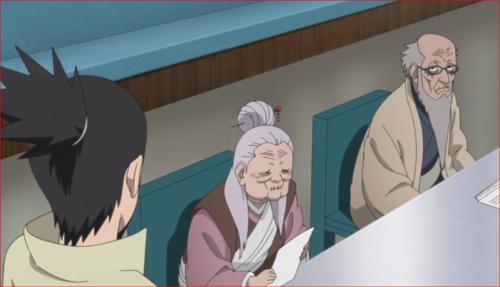 アニメBORUTO第73話、ナルトの決断を非難する相談役