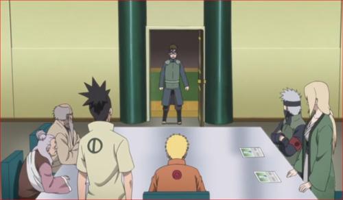 アニメBORUTO第73話、ボルトたちの失踪を告げに来る忍