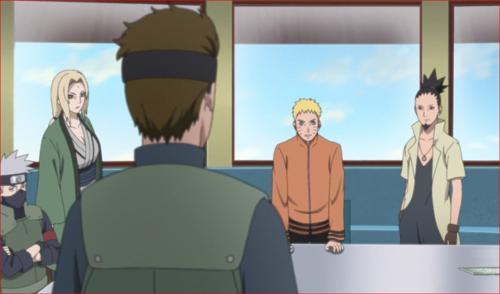 アニメBORUTO第73話、ボルトとサラダが返っていないようです