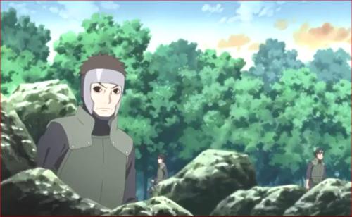 アニメBORUTO第73話、ヤマトたちが監視を続けています