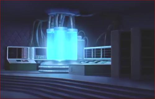 アニメBORUTO第73話、仲には何やら実験装置のようなものが…