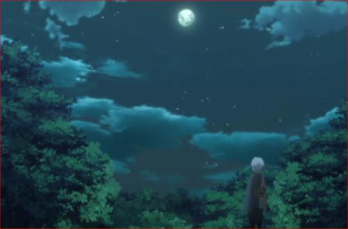アニメBORUTO第73話、月を見上げるミツキ2