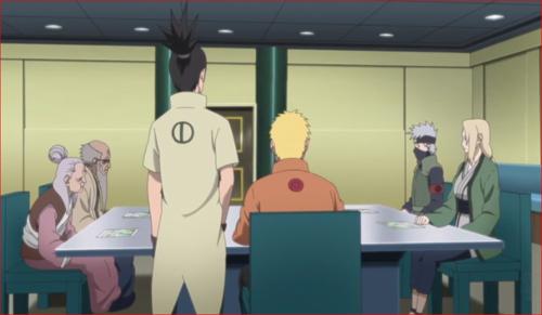 アニメBORUTO第73話、火影は里を守る守護者だ