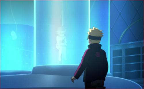 アニメBORUTO第73話、試験官の中に居るのはみんな巳月だ