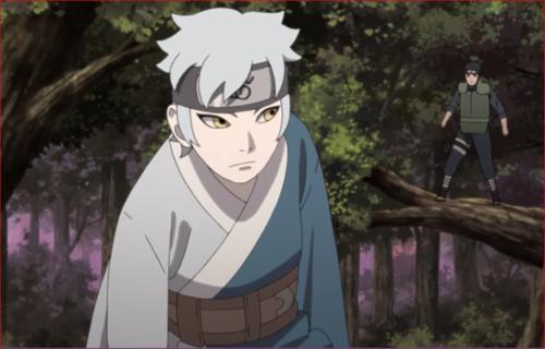 アニメBORUTO第73話、香燐が変化したミツキを追い詰めるヤマトたち