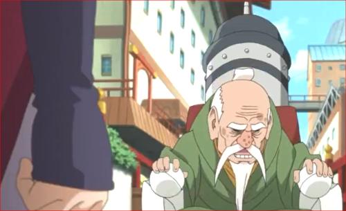 アニメBORUTO71話、オオノキさんのこと探しているようですよ