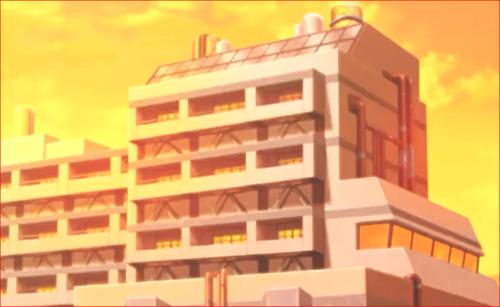 アニメBORUTO71話、ミツキの暮らすマンション