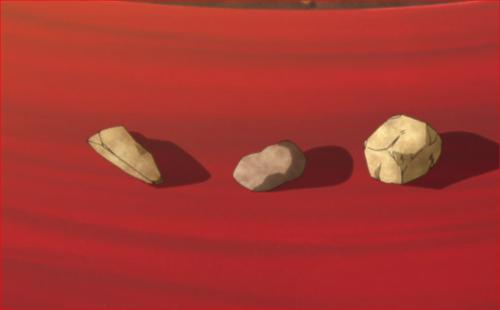 アニメBORUTO71話、世界一硬い石を選んでみろ