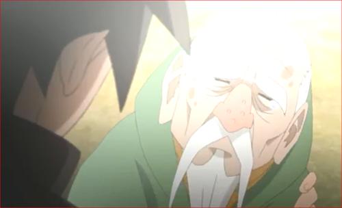アニメBORUTO71話、意識を取り戻すオオノキ