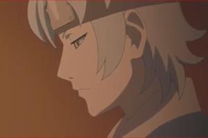 アニメBORUTO71話、暗い顔のミツキ