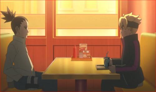 アニメBORUTO72話、ついさっき、木ノ葉は臨時の厳戒態勢に入った