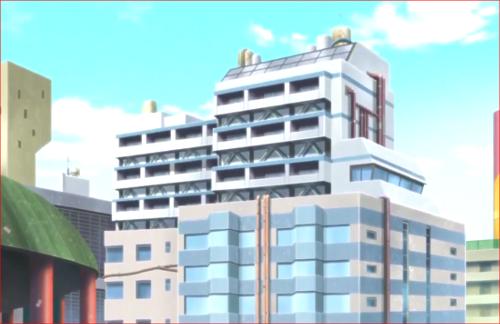 アニメBORUTO72話、ミツキの住むマンション