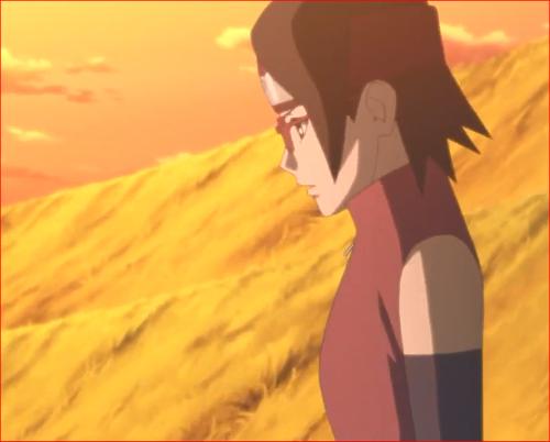 アニメBORUTO72話、ミツキの親が大蛇丸と知って木ノ葉丸驚いてた